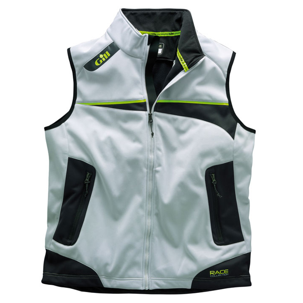 Gill Race Vest in Silver - Exclusive Gill Race Collection