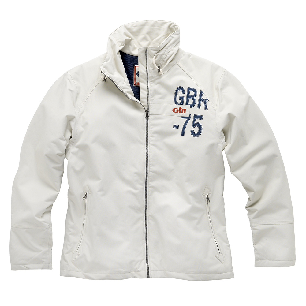 Gill Sail Jacket Sailcloth or Navy