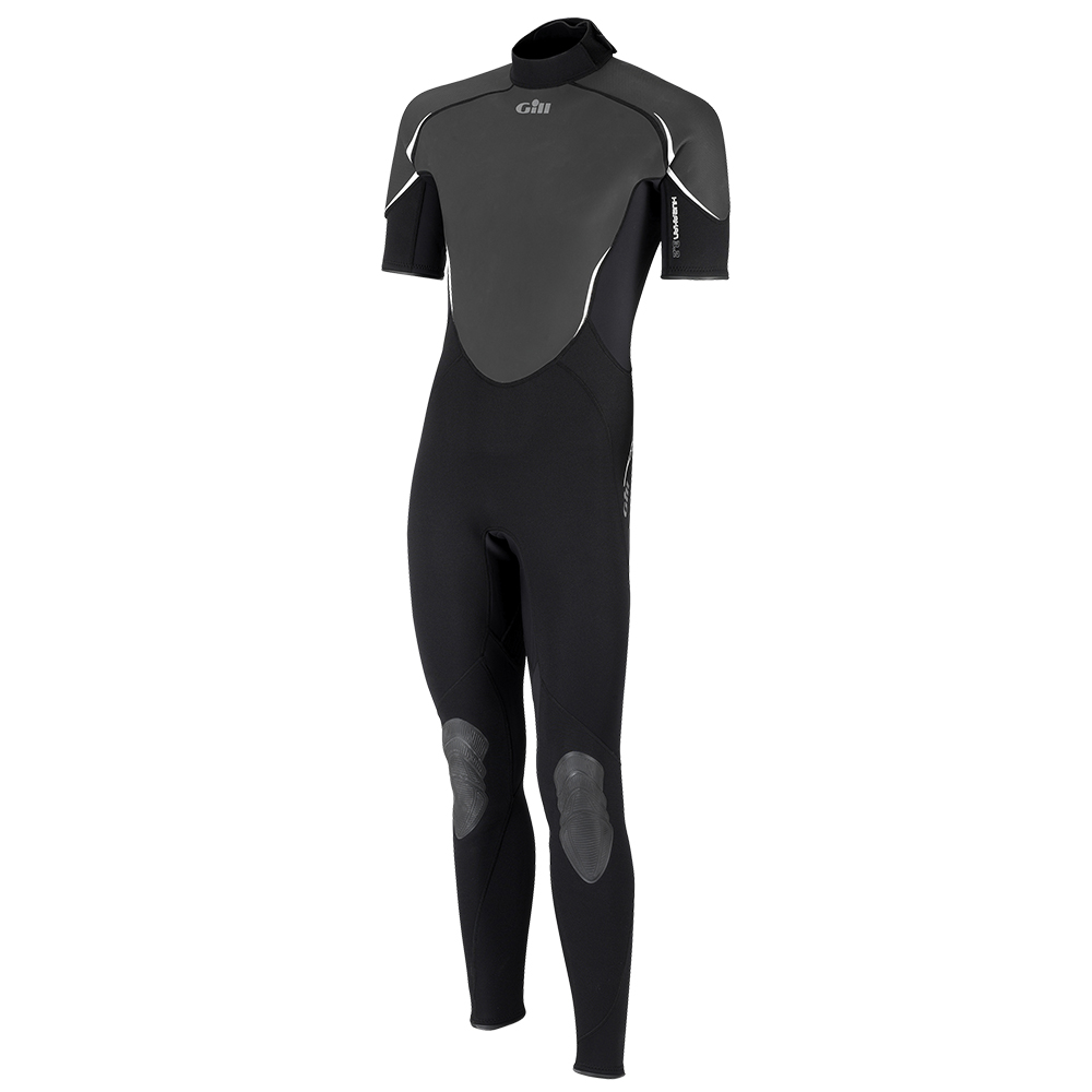 Hurakan Wetsuit Short Arm One Piece - Black Graphite
