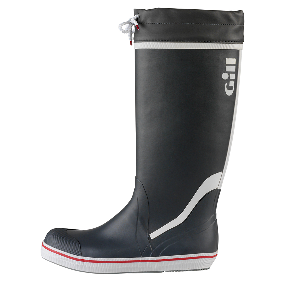 Tall Yachting Boot - Carbon