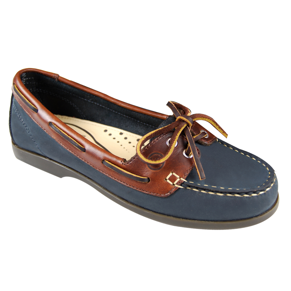 Schooner Women's Deck Shoes - Navy