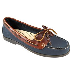 Schooner Women's Deck Shoes - Navy