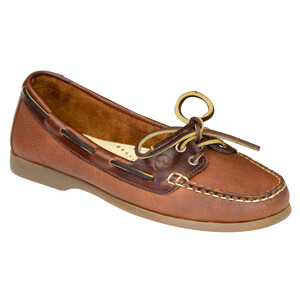 Schooner Women's Deck Shoes - Havana