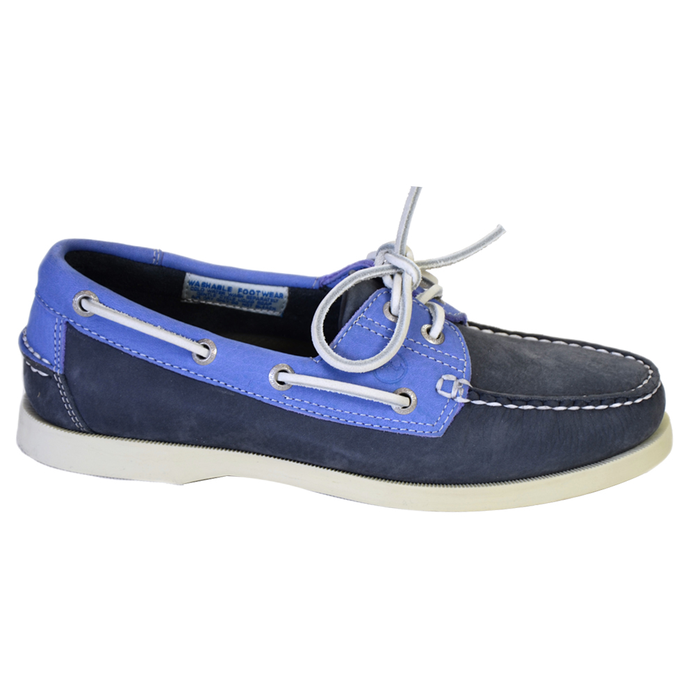 Sandusky Women's Deck Shoes - Indigo/Blue