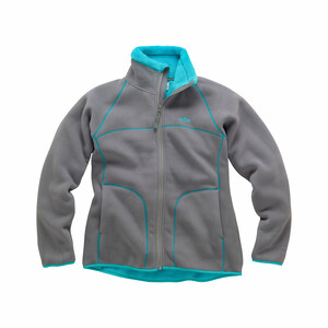 Womens Polar Jacket - Aqua