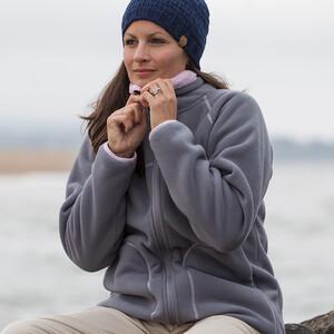 Womens Polar Jacket - Aqua
