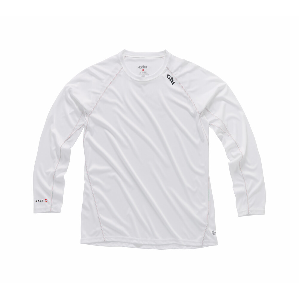 Race Long Sleeve Tee - White