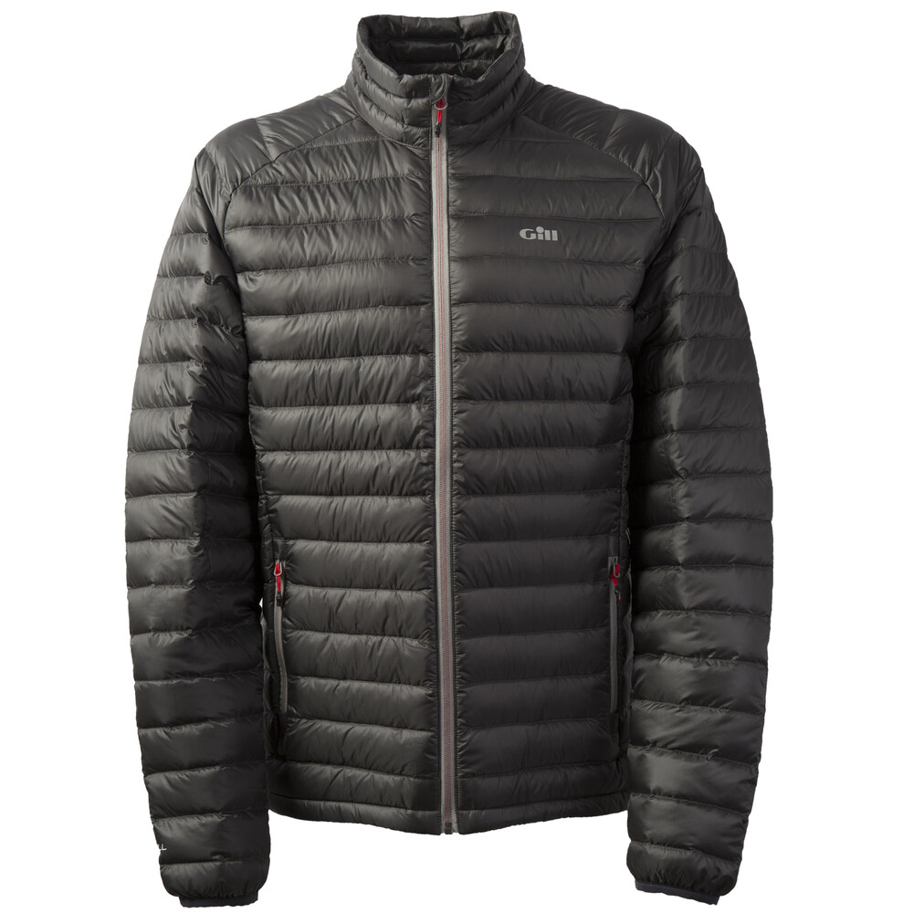 Hydrophobe Down Jacket Charcoal