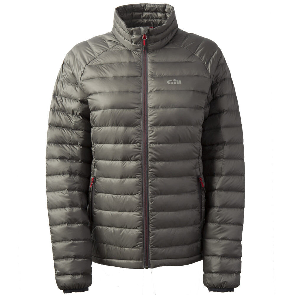 Women's Hydrophobe Down Jacket - Charcoal