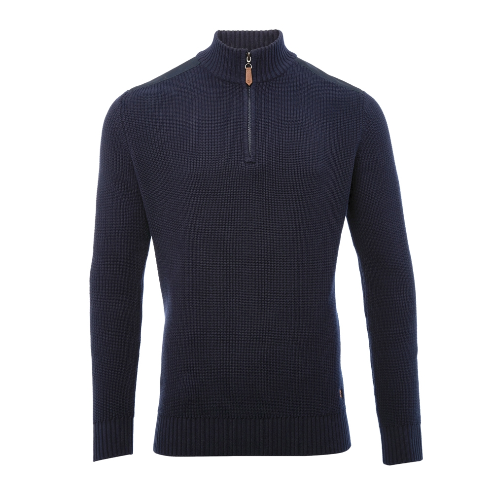 Lismoyle Half Zip Cotton Sweater