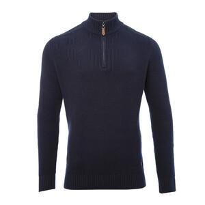 Lismoyle Half Zip Cotton Sweater
