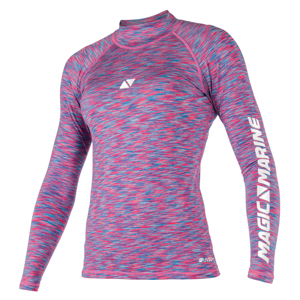 Women's Long sleeved Cube Rash Vest