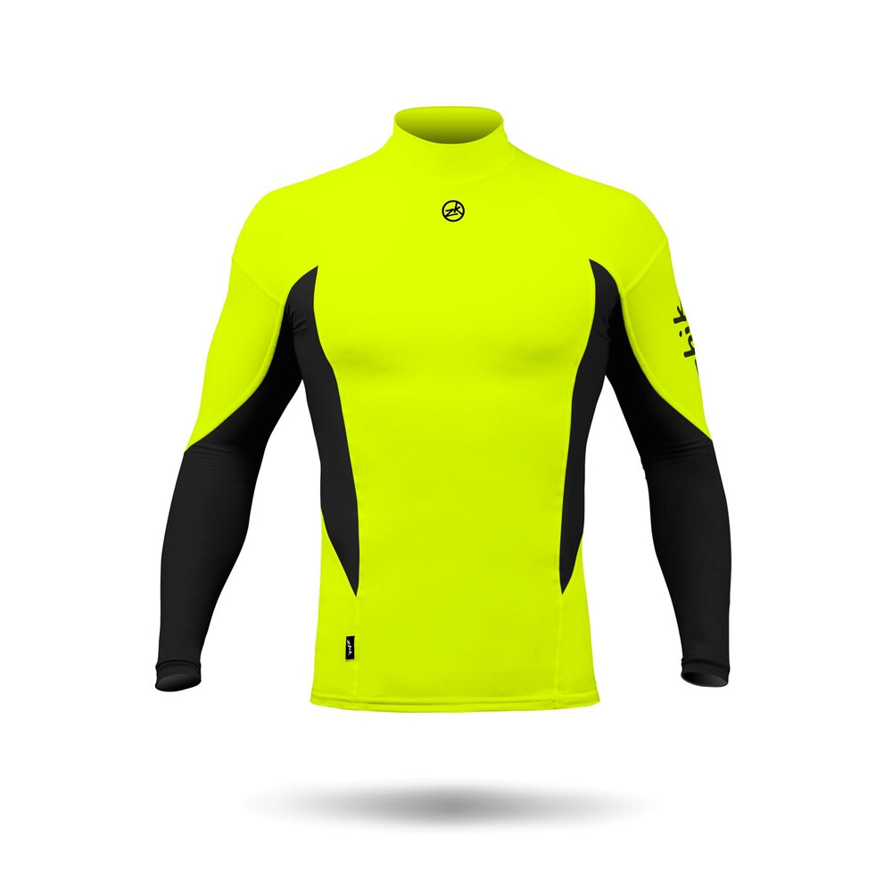 Long Sleeved Spandex Top - Hi-Vis