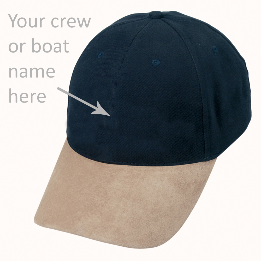 Personalised Yachting Cap
