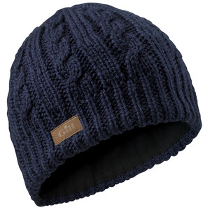 Stripey/Cable Knit Beanies