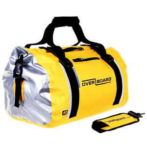 40L Waterproof Roll Top Duffel Bag Yellow
