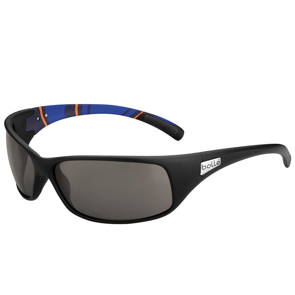 Recoil Sunglasses - Matte Blue/Stripes - Modulator Pol