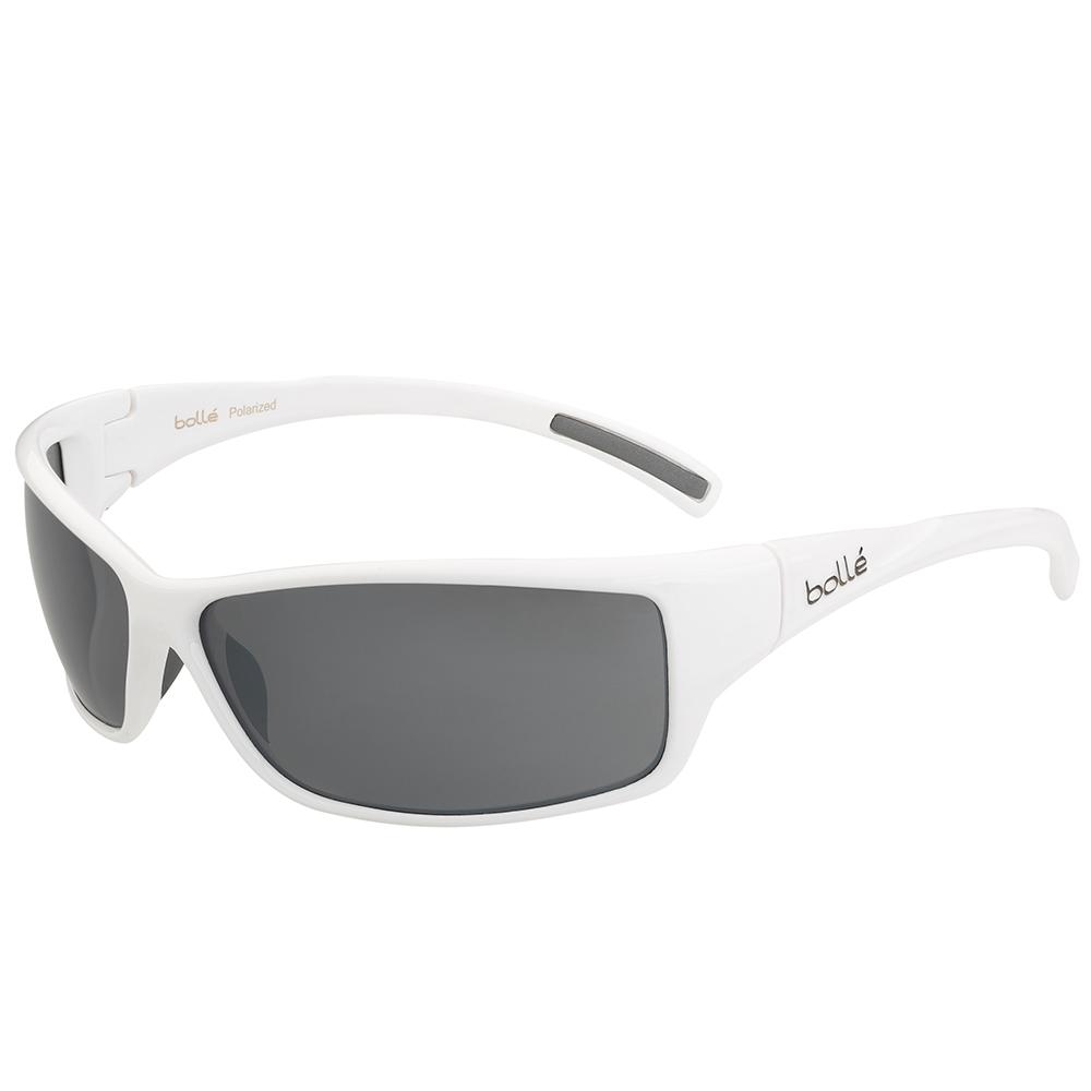Slice Sunglasses - Shiny White/Matte - Polarised TNS G
