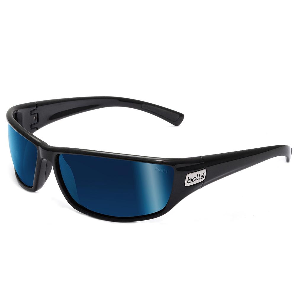 Python - Shiny Black - Polarised Offshore Blue oleo AR