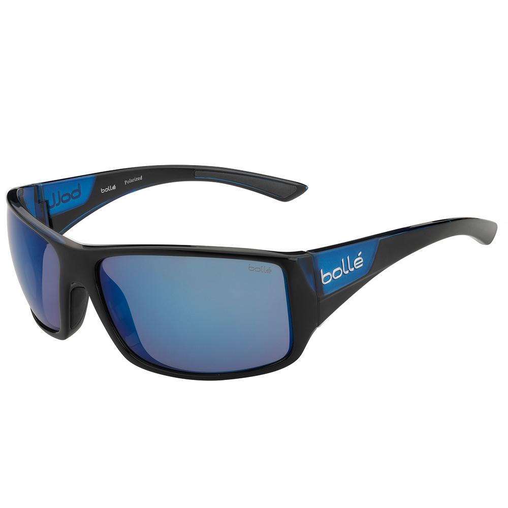 Tigersnake Sunglasses - Shiny Black/Matte Blue - Polar