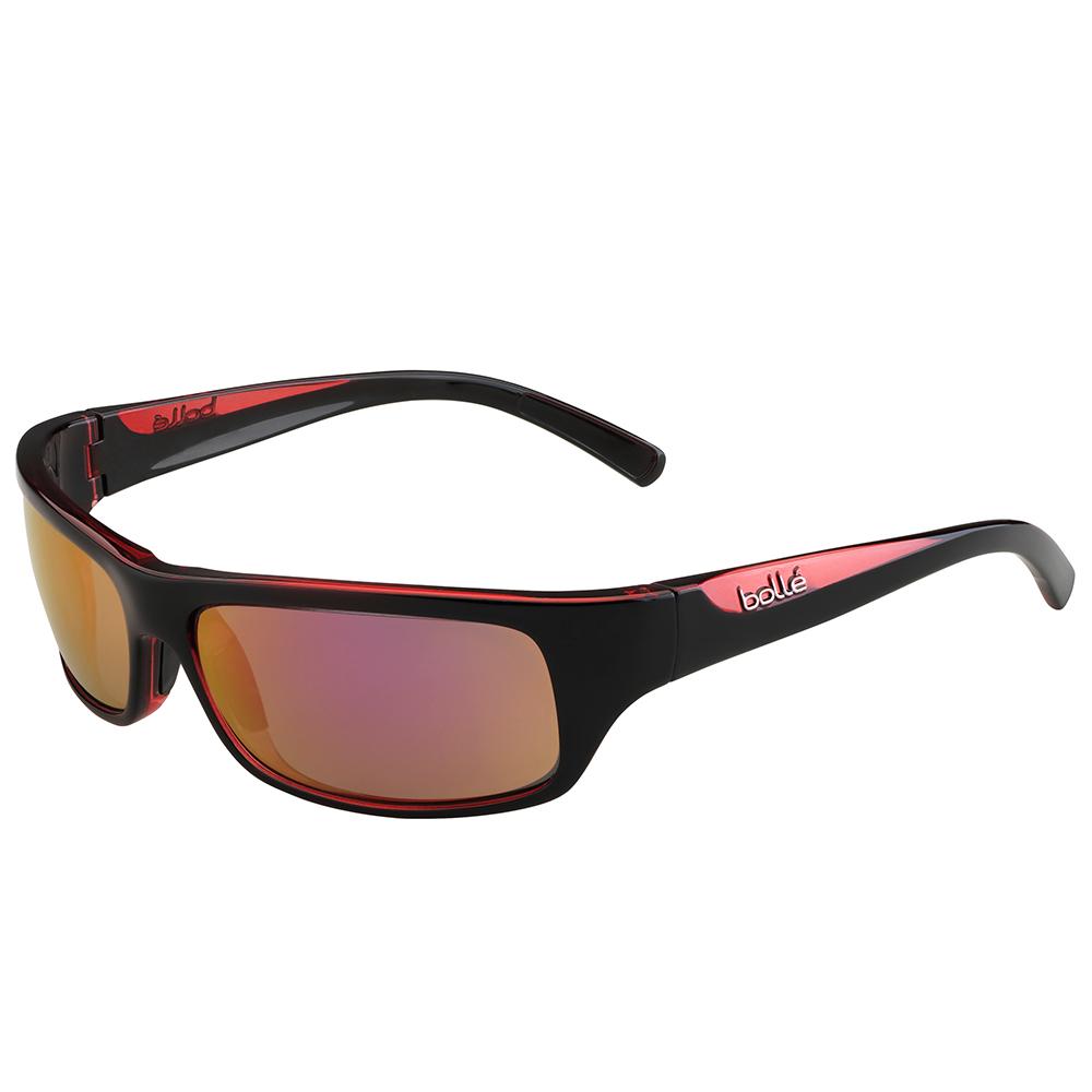 Fierce sunglasses - Shiny black/Rose - Polarised Rose