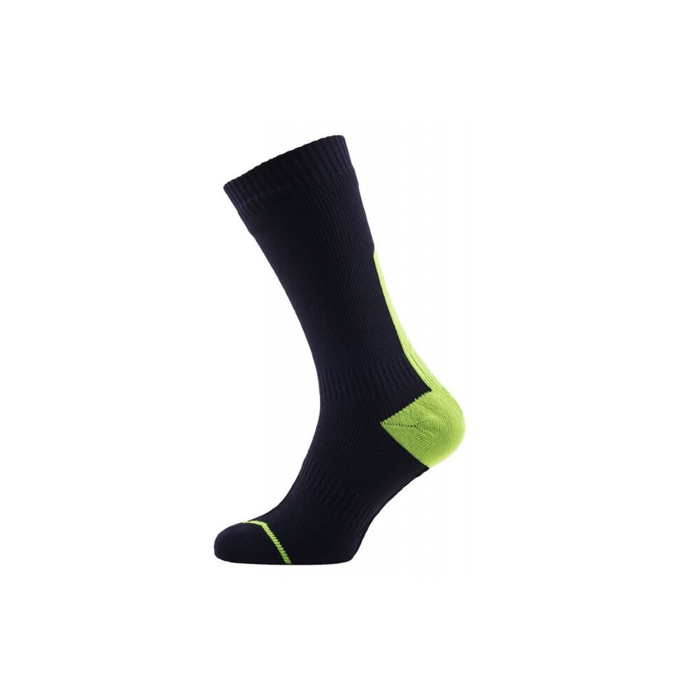 Thin Mid Length Socks with HydroStop