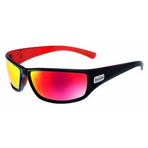 Python Sunglasses - Shiny Black/Red