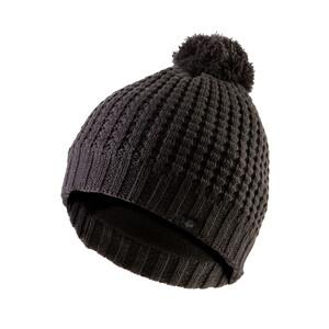 Waffle Knit Bobble Hat