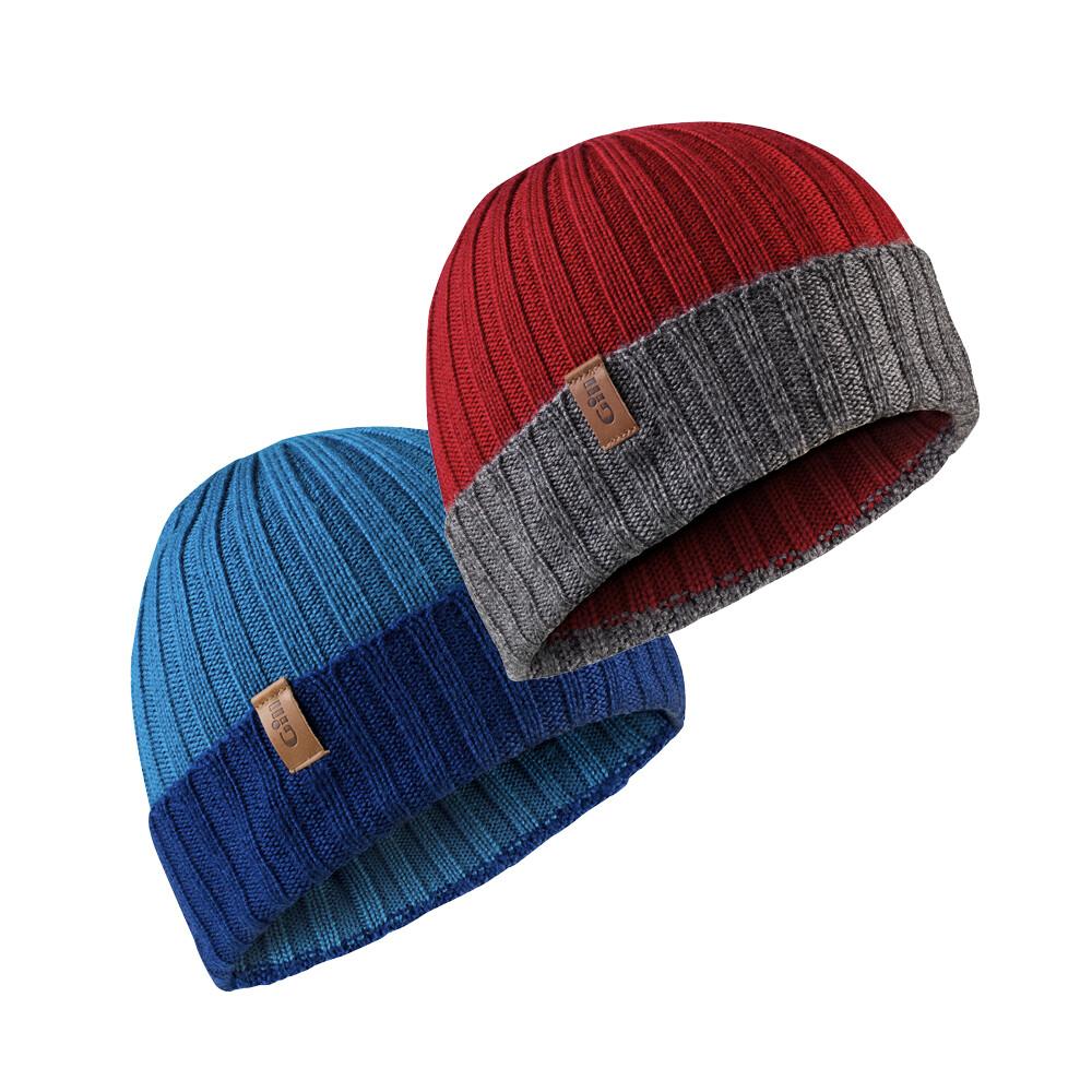 Wide Rib Knit Beanie