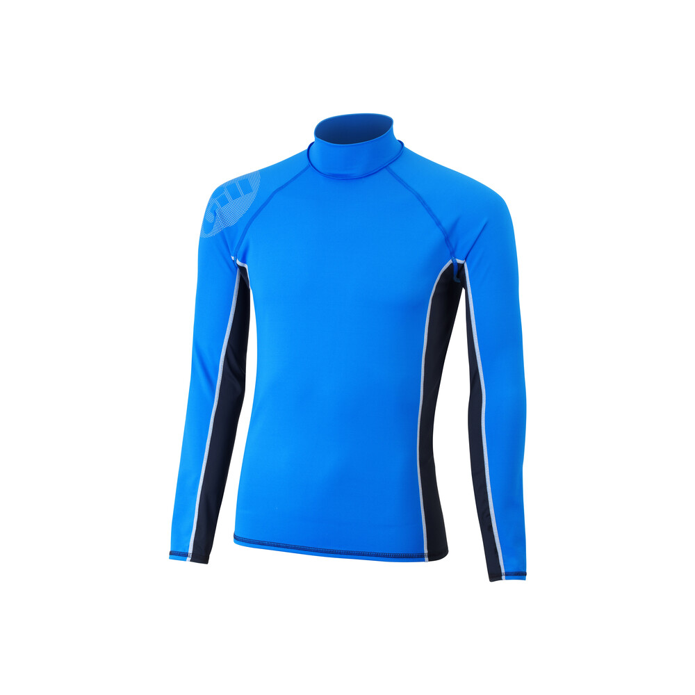 Junior Pro Rash Vest - Blue