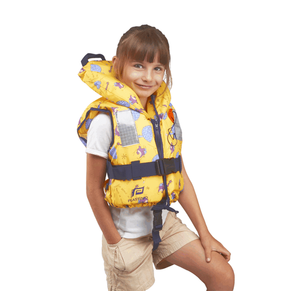 100N Typhoon Childs Lifejacket Yellow