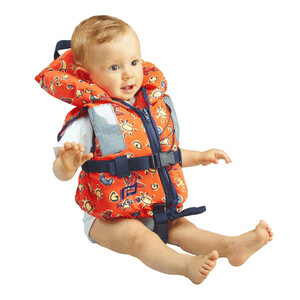 Typhoon 100N Childs Lifejacket Orange