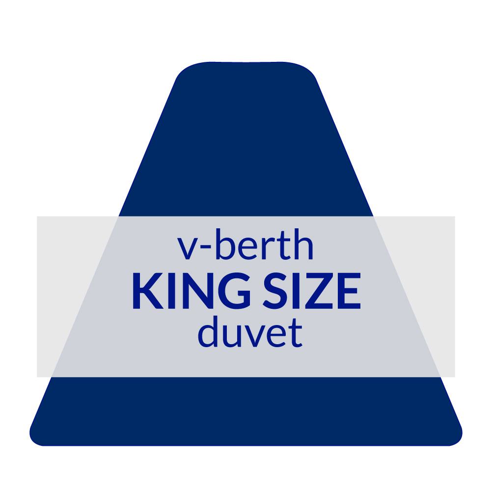 V-Berth Duvet King Size 10.5 TOG
