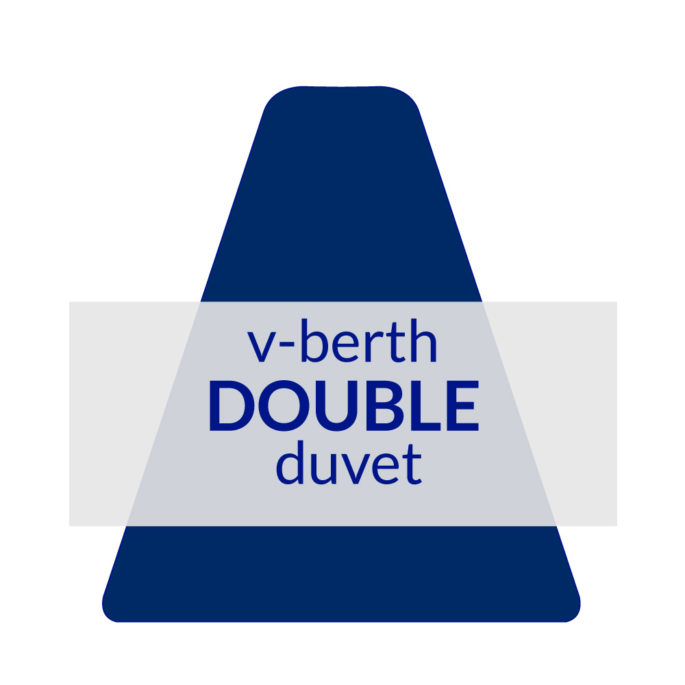 V-Berth Duvet Double 10.5 TOG