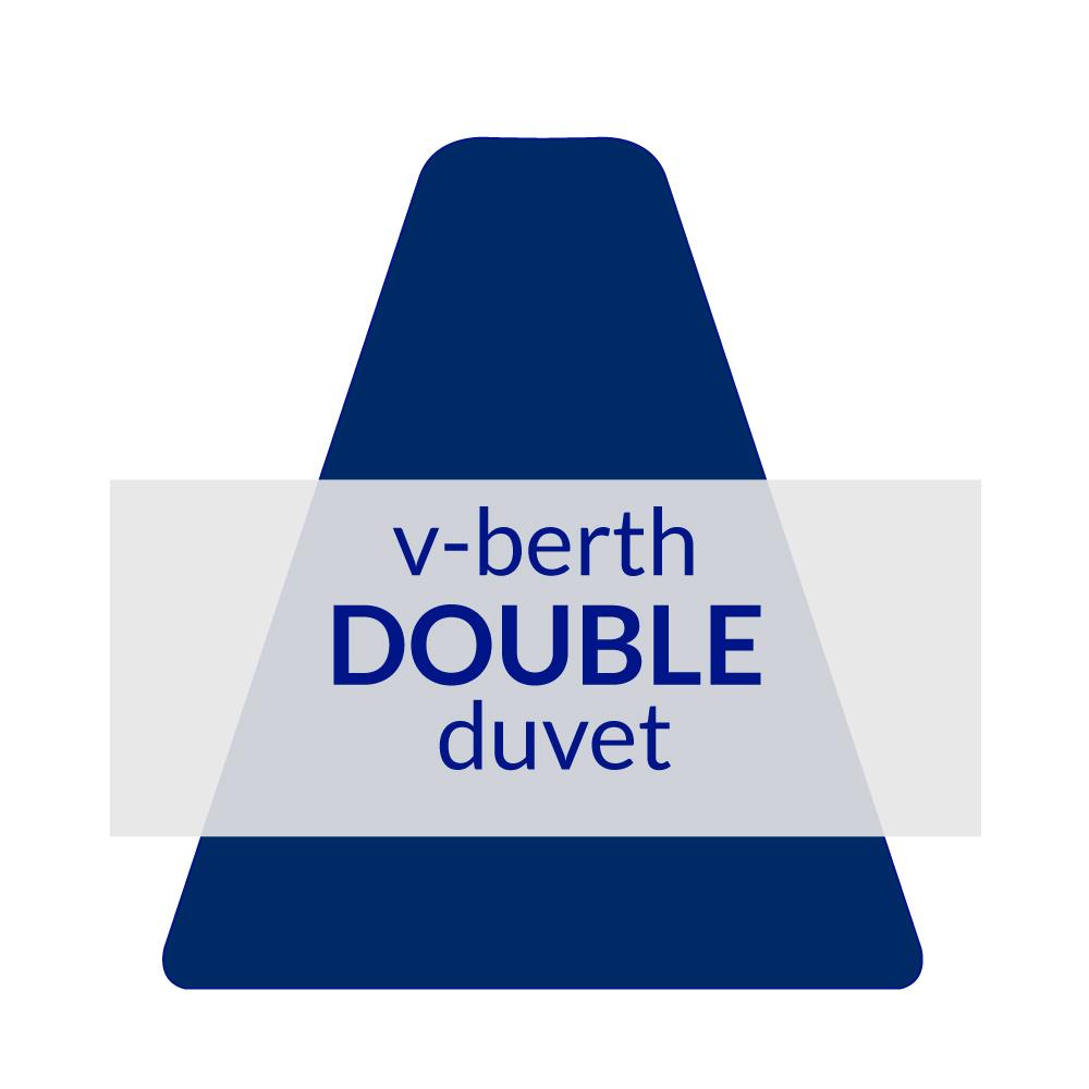 V-Berth Duvet Double 10.5 TOG