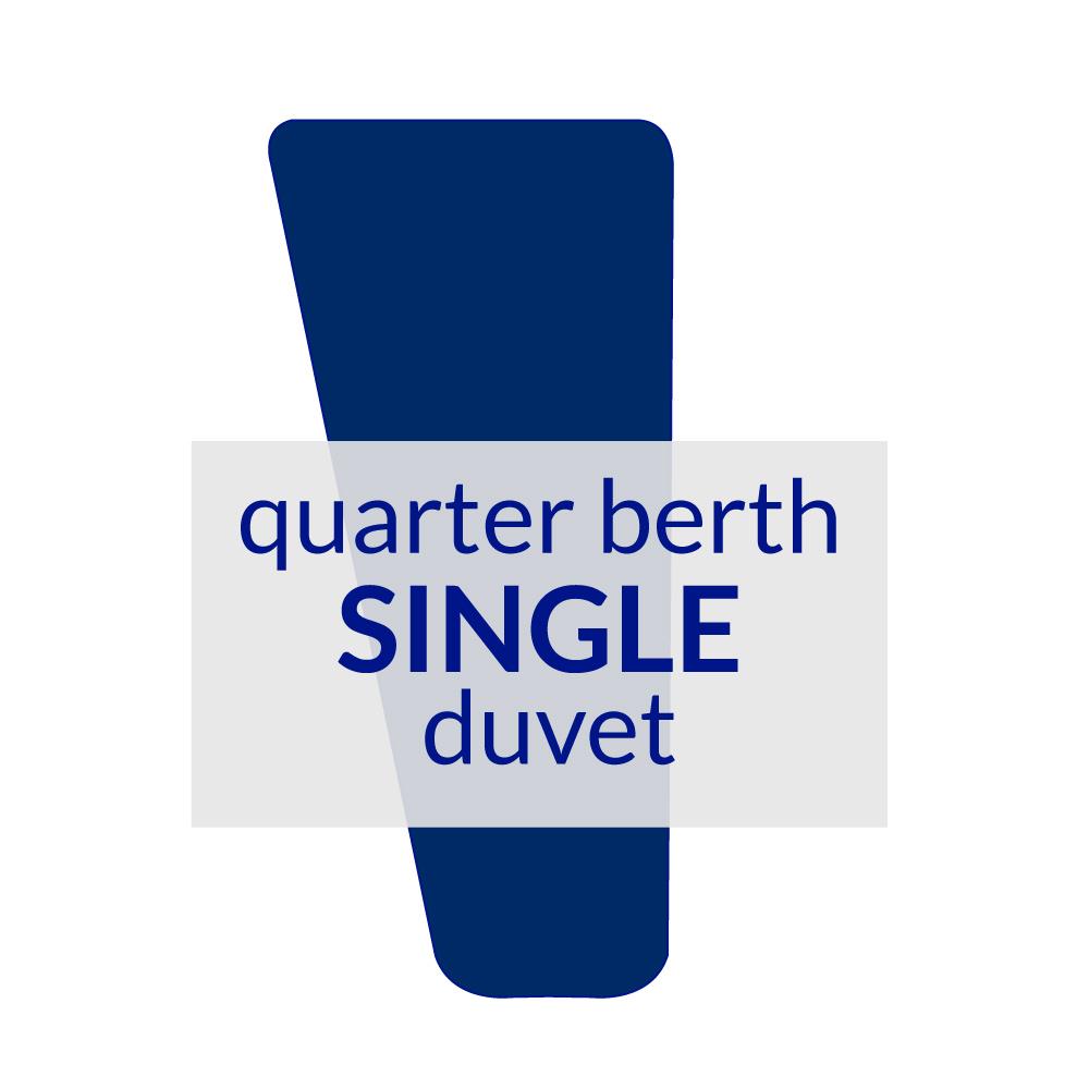 Quarter Berth Duvet Single 10.5 TOG