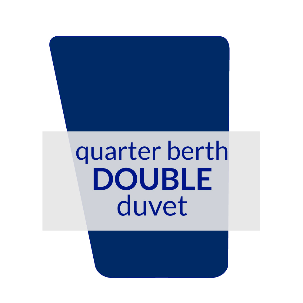Quarter Berth Duvet Double 10.5 TOG