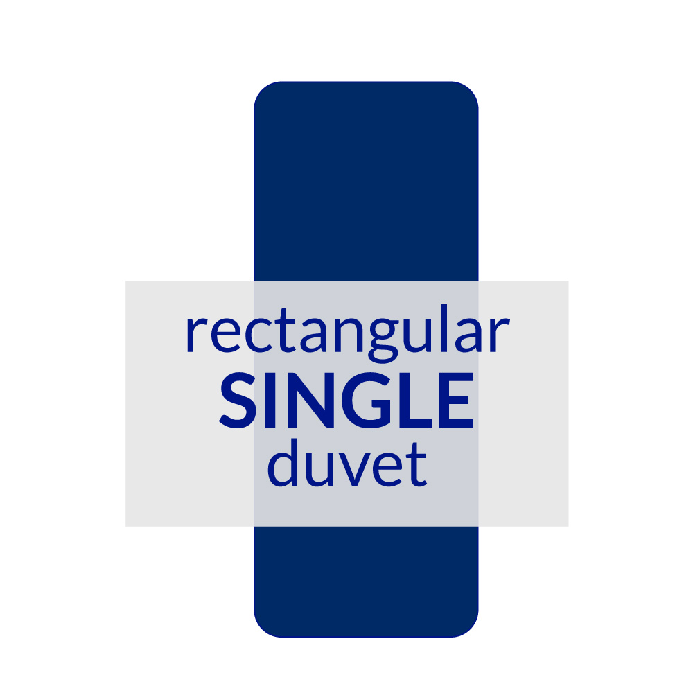 Rectangular Berth Duvet Single 10.5 TOG