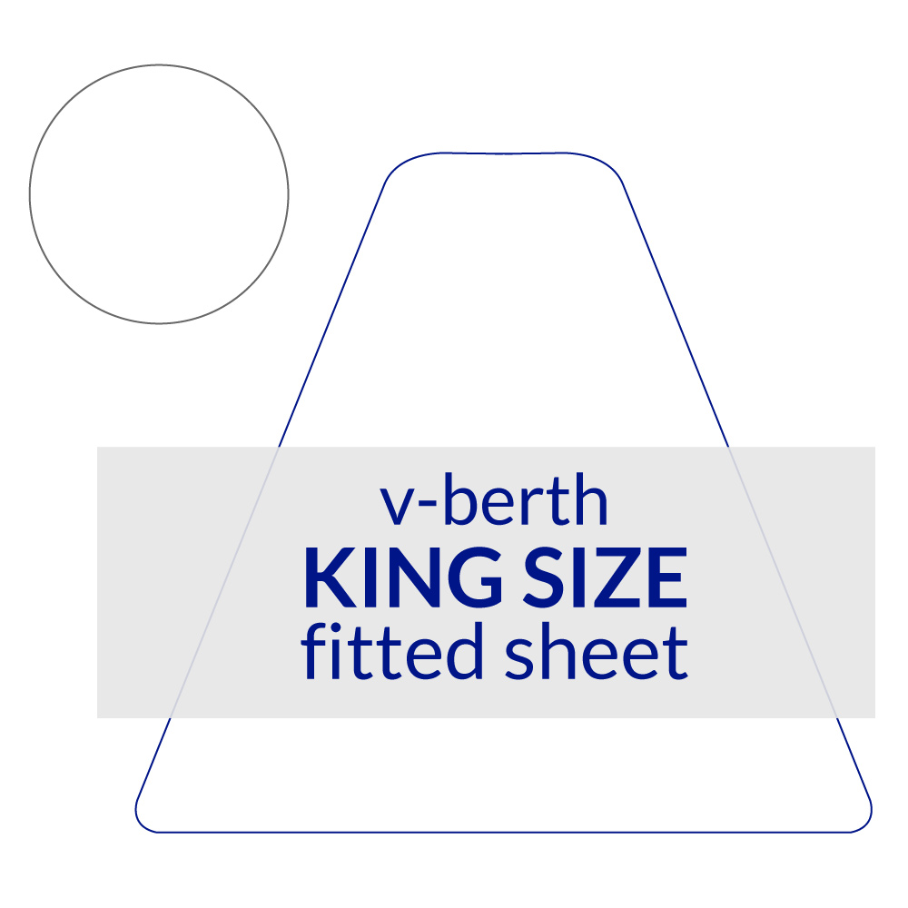 V-Berth Fitted Sheet King Size