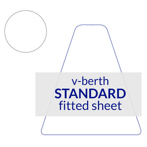 V-Berth Fitted Sheet Standard (Double) Size