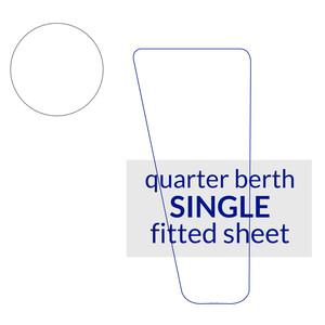 Quarter Berth Fitted Sheet Single