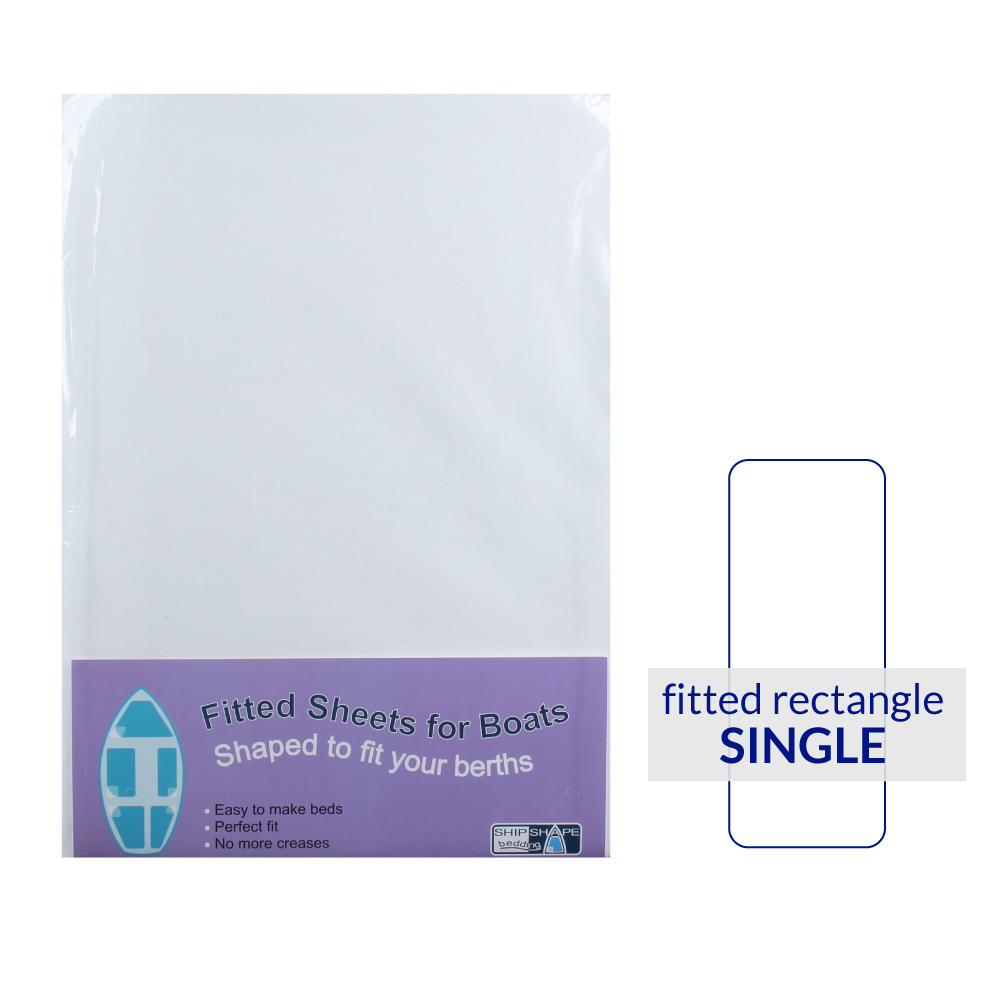 Rectangular Berth Fitted Sheet Single