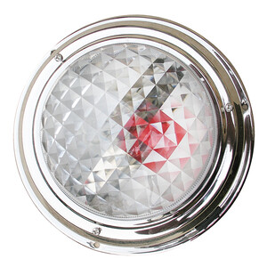 Stainless Steel Switchable Red/White Surface Light