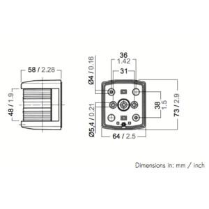 Aquasignal Series 25 Bi-Colour
