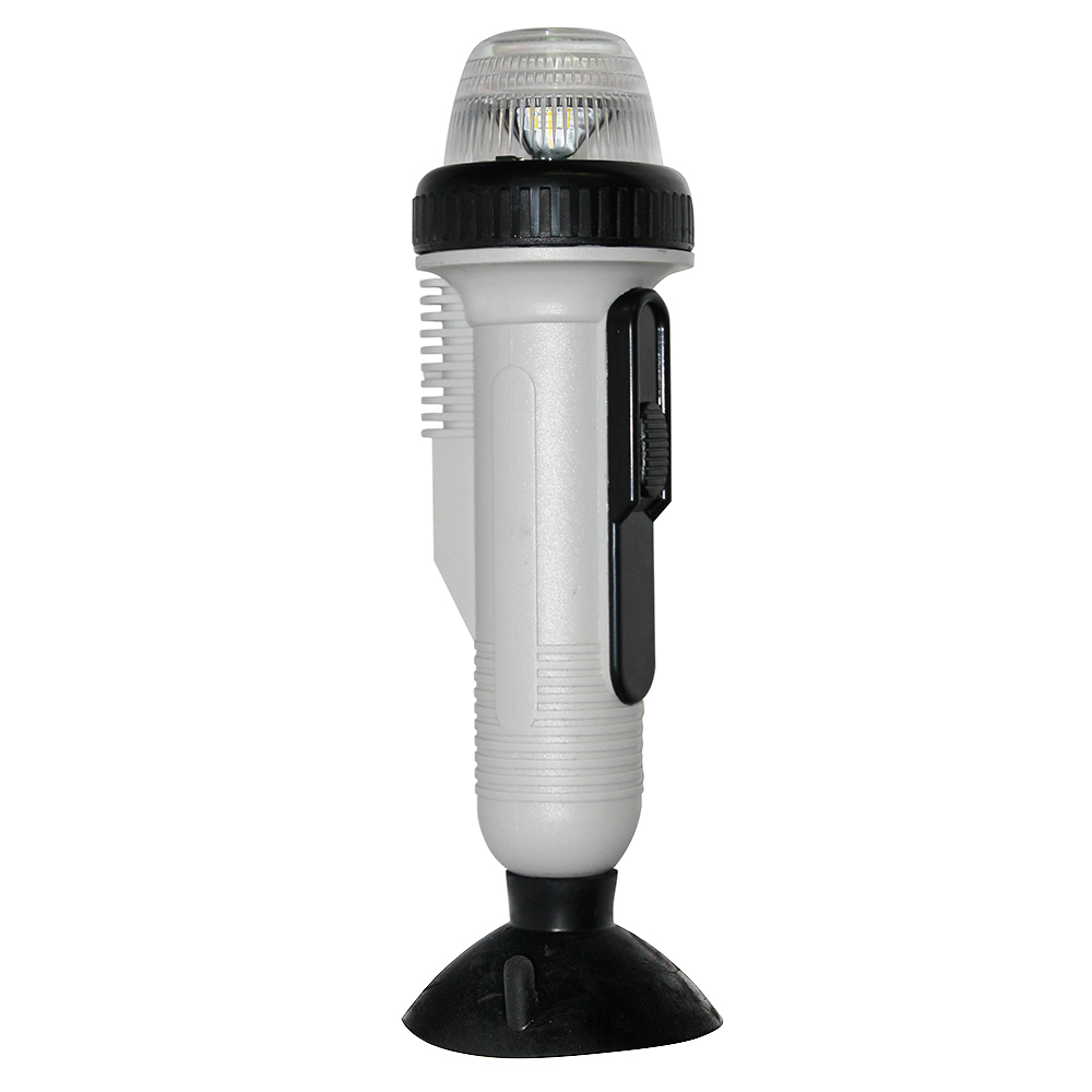 All-Round White Light with Suction Mount