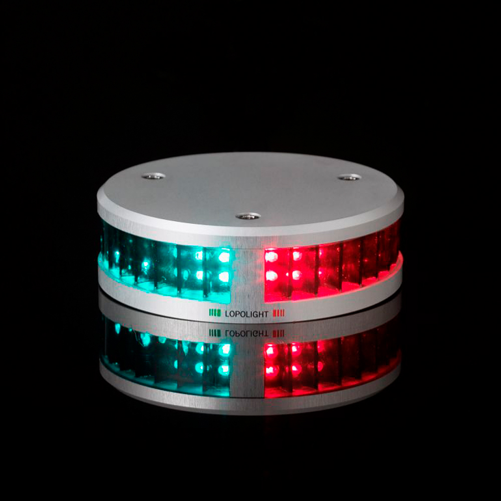 LED Tricolour with Anchor Light <12m