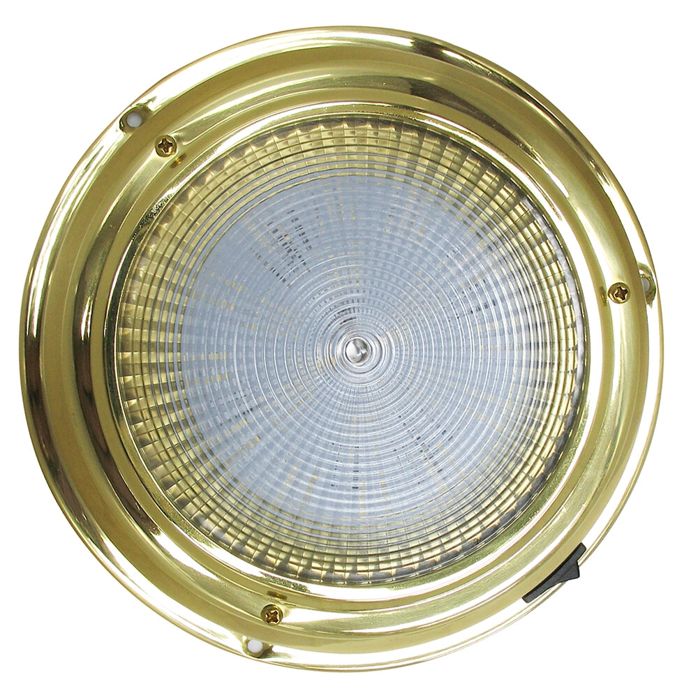 Brass Surface Mounted Light - Large