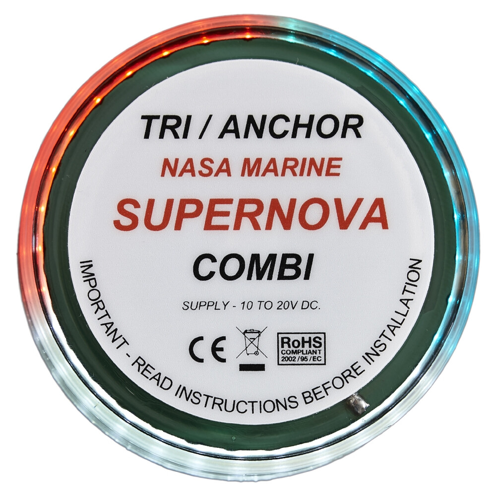 Supernova LED Combi Tricolour/Anchor Light