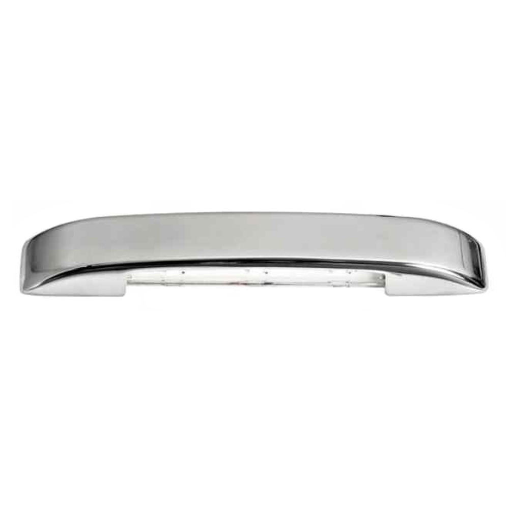 Stainless Steel 3 LED Courtesy Light - White