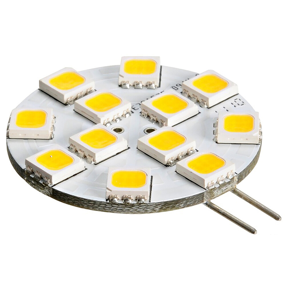 LED G4 12-Chip Bulb - Side Pins